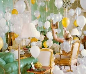 """""""balloons for bridal shower decor"""""""