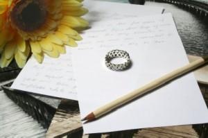 """""""write wedding vows"""""""