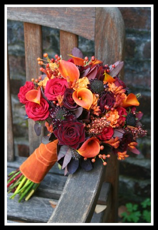 4 Fall Wedding Bouquet Ideas | Cardinal Bridal