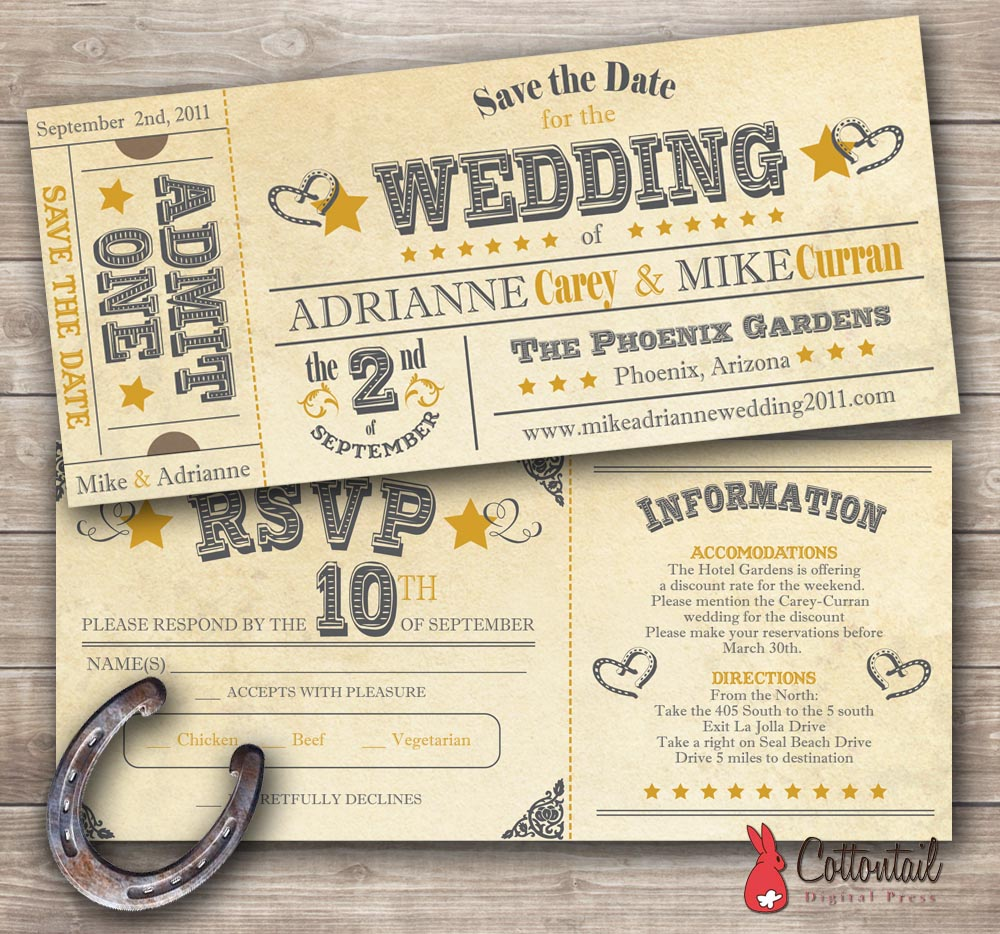 Country Wedding Invitations Are Popular This Fall Season Cardinal