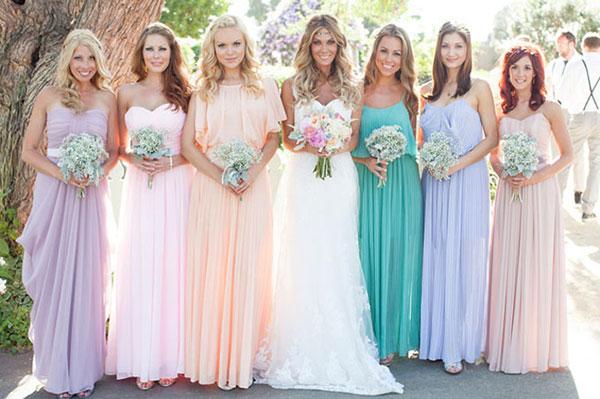 differnet dresses