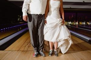 bowling wedding