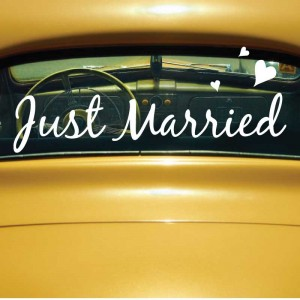 just married transportation