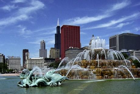 chicago's buckingham fountain