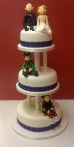 types of wedding cakes