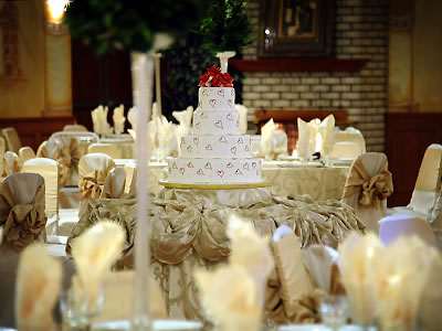 European Chalet Banquets- cake