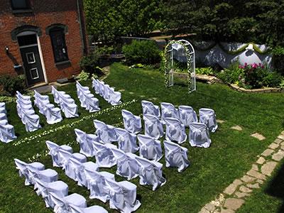 Keith House garden