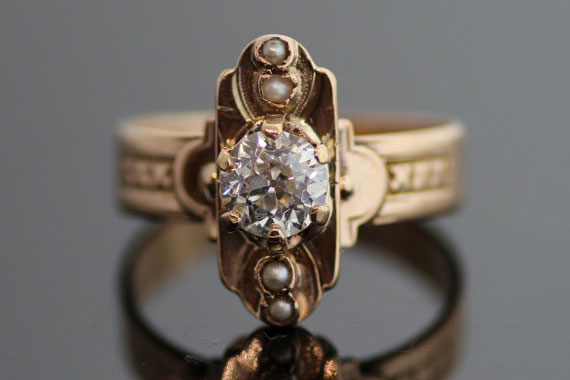 second-hand ring