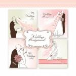 wedding couple sketches2