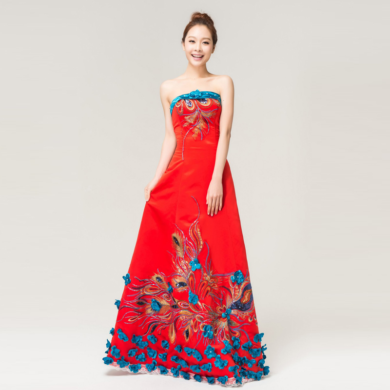 wedding gown-chinese bride