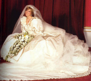 diana wedding day