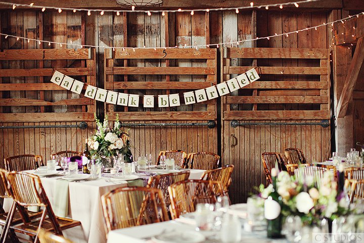 Eat Drink And Be Married Barns
