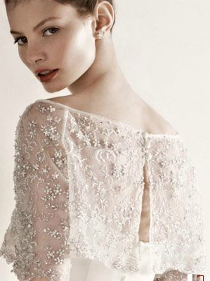 illusion neckline sequin