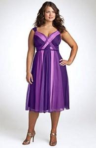 purple-knee-length