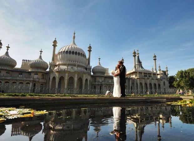 wedding at brighton Royal-Pavilion