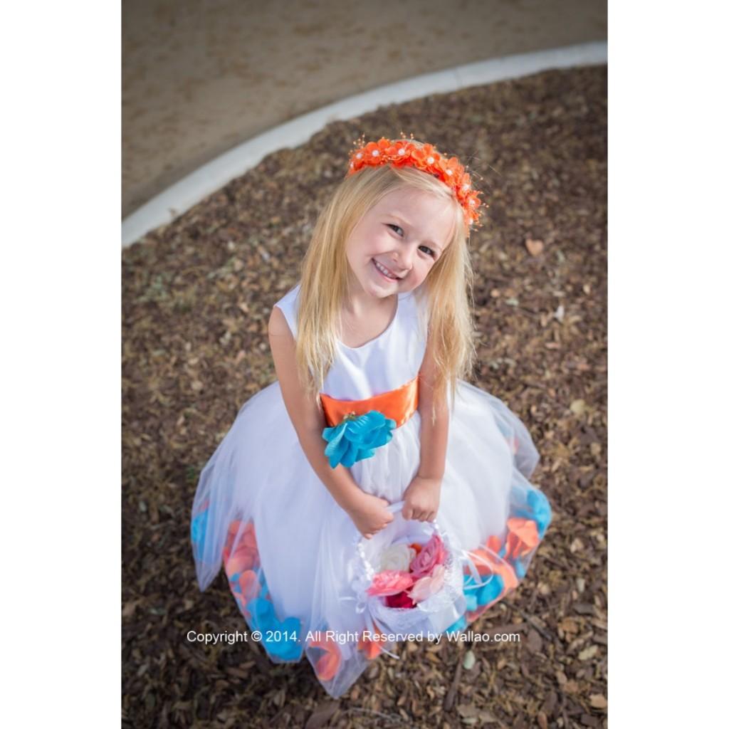 rose-petal-dress-combination-orange-and-turquoise-custom-colors-cda