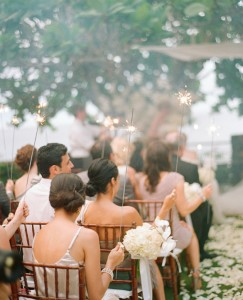 sparklers-wedding