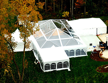 top clear tent