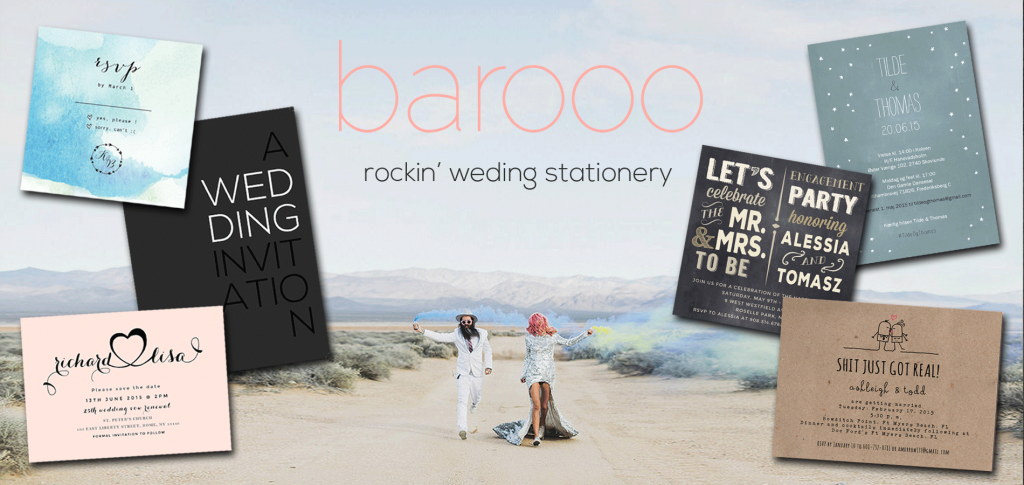 barooo wedding invitations