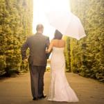 garden wedding planning