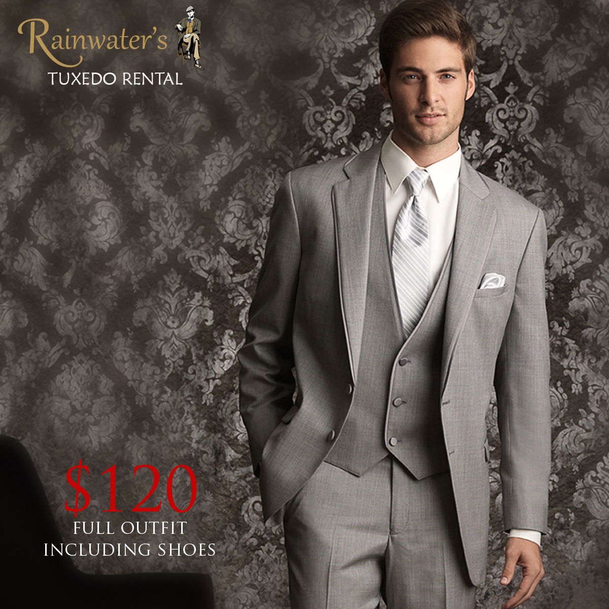 Wedding Tuxedo Rental – Be the Most Handsome Groom at the Best Price ...