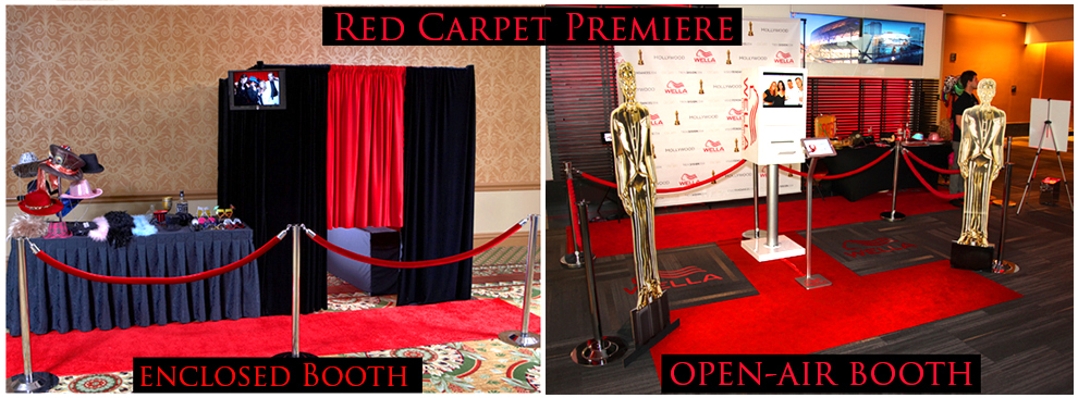 social photo booth red carpet premiere