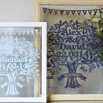 Standard Large Love Tree Papercuts