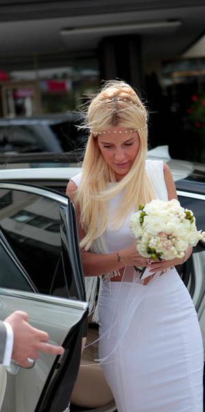 bride in turkey