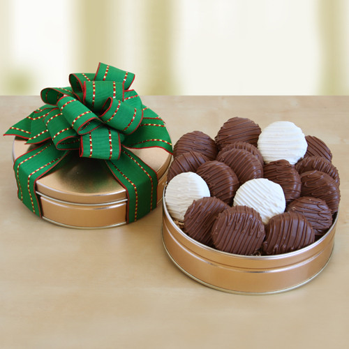 chocolate-covered cookies