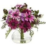 daisies silk flower arragemnet
