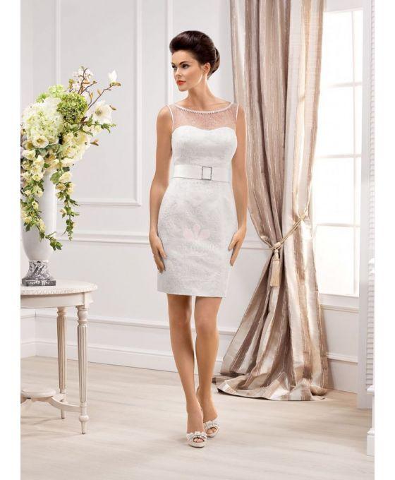 shortsheath shortmini lace sweetheart wedding dress