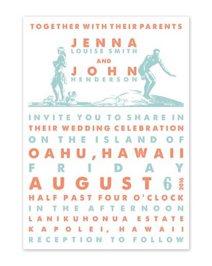 blissful stationery wedding invitations