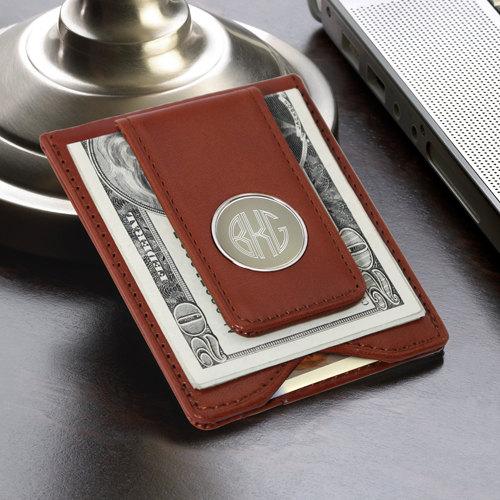 leather wallet for groomsmen