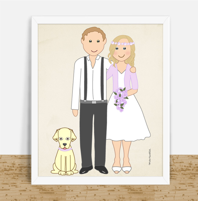 couple and pet