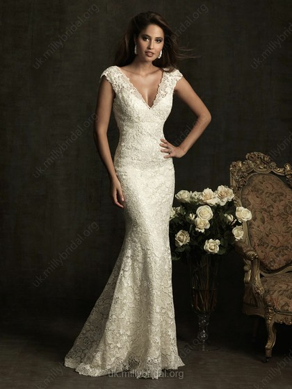 mermaid gown for beautiful figure