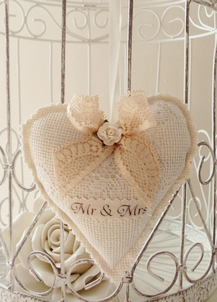 Mr and Mrs Lavender Heart