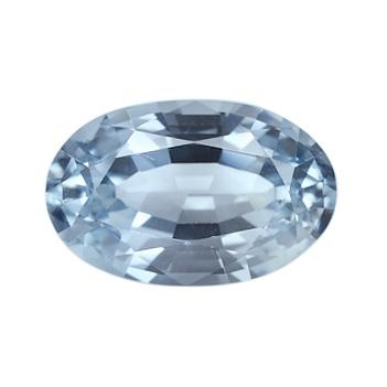light blue oval sapphire