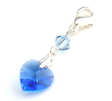 something blue bracelet charm