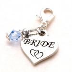 something blue bride charm