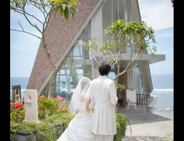 Samabe chapel wedding. Bali