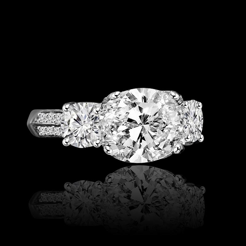 Diamond Veneer ring