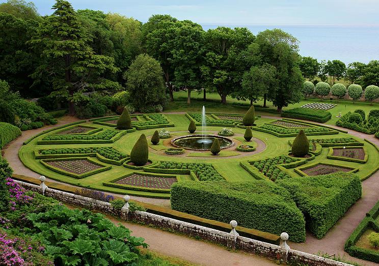 garden for wedding