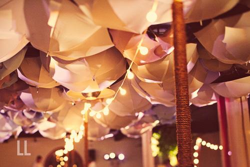 NYC Wedding lighting