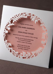 PAPEROSE wedding invitation 2