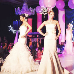 Aroose Toronto - bridal fashion show