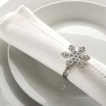 snowflake napkin ring
