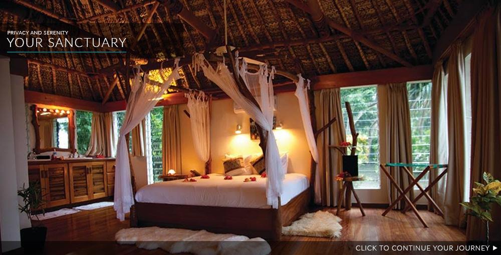 luxurious stay Turtle Island Fiji