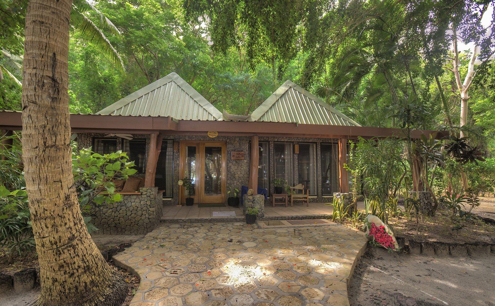 serenity and privacy of bure Turtle Island Fiji