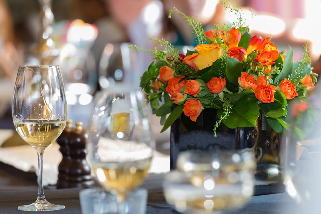 Table at Wedding Reception, Malmaison Hotel, Oxford, Oxfordshire, UK