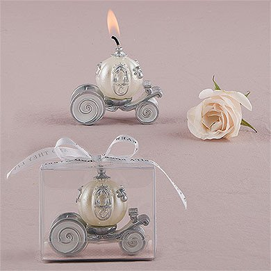Cinderella's chariot candle holder